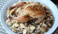 طريقة اعداد الدجاج  بالأرز بالنكهة الشرقية