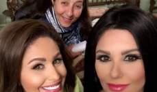 مي سليم وشقيقتها دانا حمدان تلتقيان في سبع صنايع..بالصور