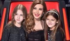 نانسي عجرم غنّت لإبنتيها وصنعت منهما نجمتين بريئتين
