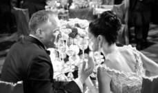 سلمى حايك تحتفل بذكرى زواجها بصورة بالأسود والأبيض