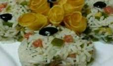 طريقة تحضير سلطة السمك مع الأرز