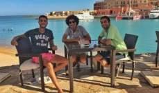 """بالصورة- """"عيار ناري"""" يجمع أحمد الفيشاوي وهيثم دبور وكريم الشناوي بالجونة"""