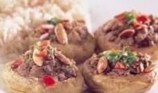 أكل الشيف: أرضي شوكي بلحمة مع أرز وشعيرية