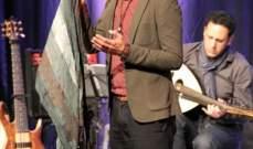مايك ماسي يطرب جمهوره في مسرح بابل