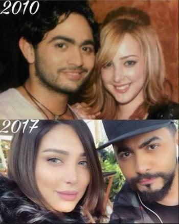 بين ٢٠١٠ و ٢٠١٧ .. تغييرات جذرية في شكل تامر حسني وزوجته شاهدوا الفرق