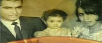 صورة نادرة لـ حياة الفهد مع زوجها وإبنتها