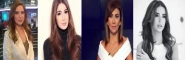 ديما صادق ديانا فاخوري سمر أبو خليل ميرنا الهندي ...صوتوا لأفضل مقدمة أخبار لبنانية