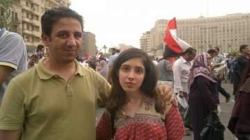 """علياء المهدي وصديقها يفوزان بجائزة """"أفضل قصة حب"""" لعام 2011"""