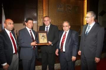 """غابي ليون في تكريم سعيد عقل: عسى أن يكون الوزير """"الزحلاوي"""" قد قدم شيئا لكبير لبنان"""