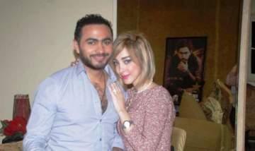 بسمة بوسيل: تامر حسني منعني من الغناء ووالدته تقدم لي الدعم
