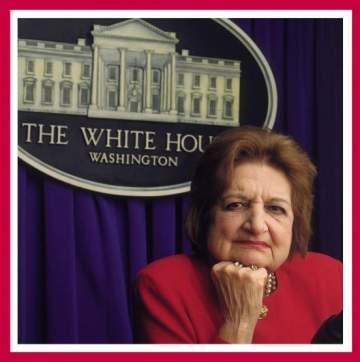 وفاة الصحافية الأميركية اللبنانية هيلين توماس عن عمر ناهز 92 عاماً