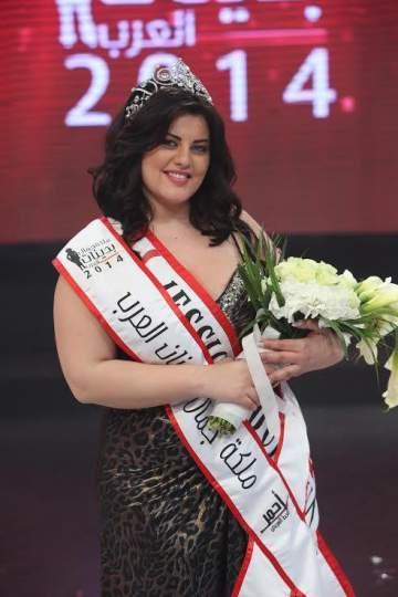 ملكة جمال البدينات 2014 زارت وزير السياحة وتصوّر ماذا بعد التاج