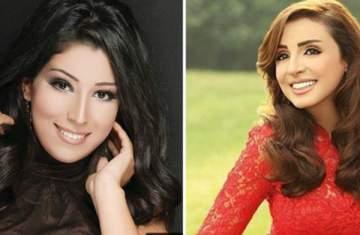أنغام تشيد بموهبة آيتن عامر في الغناء