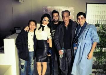مصطفى خاطر يبدأ تصوير أولى مشاهده مع هيفا وهبي في فيلمها الجديد