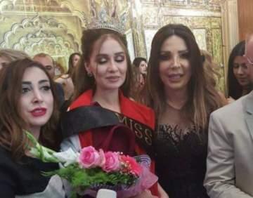 حسنا مطر تتألق في حفل انتخاب ملكة جمال العراق