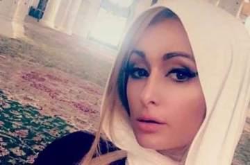 باريس هيلتون بالحجاب في أبو ظبي.. بالصور