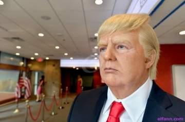 مجلة أميركية تنشر صوراً للرئيس ترامب وهو عار!!