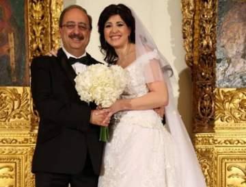 النائب غسان مخيبر وعروسه مارينا واكيم إلى إيطاليا