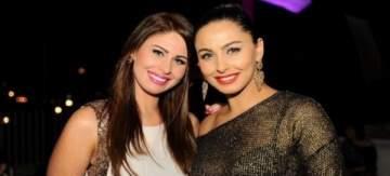 مي سليم تعايد شقيقتها ميس حمدان لمناسبة عيد ميلادها- بالصورة