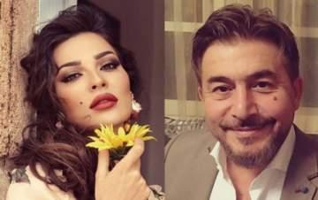 أحدث إطلالة لـ نادين نسيب نجيم وعابد فهد من مسلسل