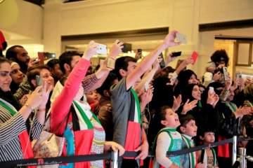 بالصور- وليد الشامي وفؤاد عبد الواحد وداليا مبارك يحتفلون باليوم الوطني للإمارات