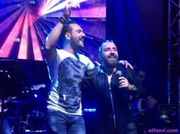 """خاص بالفيديو- وسام الأمير يغني """"خليلي مزاجك رايق"""" بطلب من جورح صدقة"""