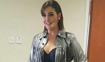 غادة عبد الرازق  بإطلالة غير موفقة بتوقيع إبنتها