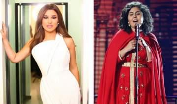 خاص بالصورة- نجوى كرم صدقت ونكشف كذبة المشتركة المغربية