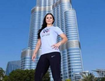 أول امراة عربية تصبح مصارعة للـ WWE