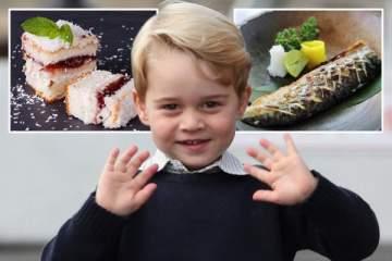 طعام الأمير جورج في المدرسة ليس عادياً..تعرفوا على وليمة الامير الملكية