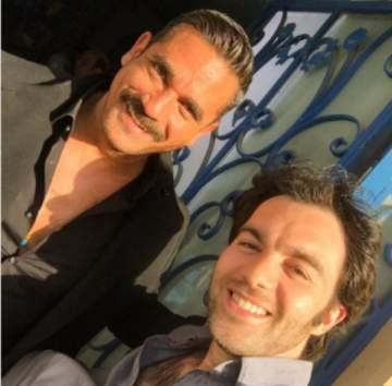 """شريف رمزي مع أمير كرارة في كواليس """"سبع صنايع"""".. بالصورة"""