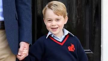 الأمير جورج يجد المدرسة أمراً ثقيلاً على قلبه