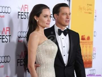 أنجلينا جولي وبراد بيت في محاكمة طلاق علنية
