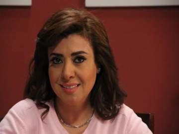 بعد غرق منزلها....نشوى مصطفى تطمئن محبيها