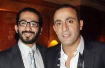 """أحمد حلمي ينتهي من تصوير مشهد مع أحمد السقا في """"هروب إضطراري"""""""