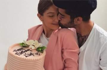 جيجي حديد تحتفل بعيد ميلادها محاطة بحبيبها وأهلها وأصدقائها
