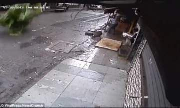 مراسلة تلقى مصرعها مباشرة على الهواء..بالفيديو