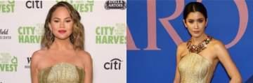 من ارتدى الفستان الذهبي بشكل أفضل..كريسي تايغن أو برايا لاندبرغ؟