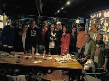 التركي مهند يحتفل بعيد ميلاد شقيقه