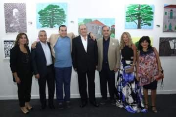 علي طليس يبدع في لوحات لمنازل تراثية لبنانية