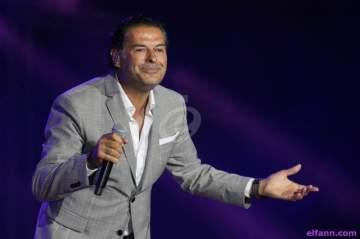 الجمهور يشارك راغب علامة بالغناء في الأردن