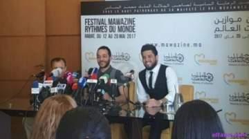 خاص بالصور- إنطلاق المؤتمر الصحفي لـ حسين الديك ومحمد السالم