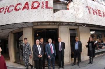 وزير الثقافة تفقد مسرح قصر البيكاديللي: أتمنى أن تكون فيروز أول من يعتليه