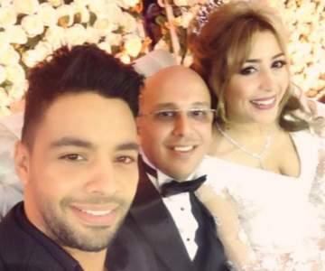 أحمد جمال يهنئ جنات بزواجها.. بالصورة