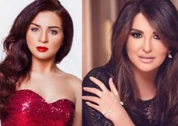 بالصورة- مي عز الدين وشذى حسون بالفستان نفسه.. على أي منهما أجمل؟