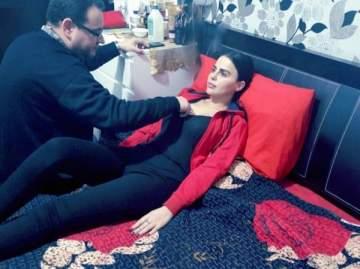 بالصور: ليال عبود تتعرض لوعكة صحية!