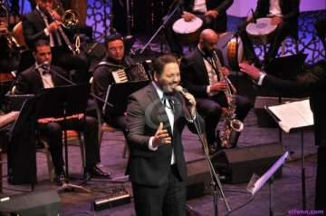 خاص بالصور- هكذا أطل رامي عياش على مسرح دار الأوبرا المصرية