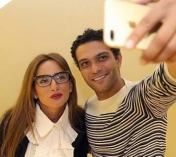 زينة وآسر ياسين يحضران عملاً جديداً