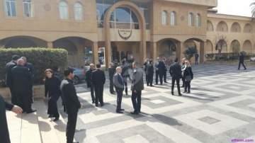 الصور الأولى من مراسم دفن ستراك سركيسيان