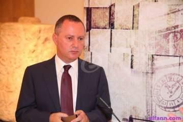 وزير الثقافة ريمون عريجي ضيف الاعلامية بولا يعقوبيان